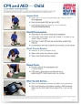 ASHI CPR-AED Poster - CPR-PST-C