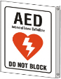 AED Wall Sign - AED-WS